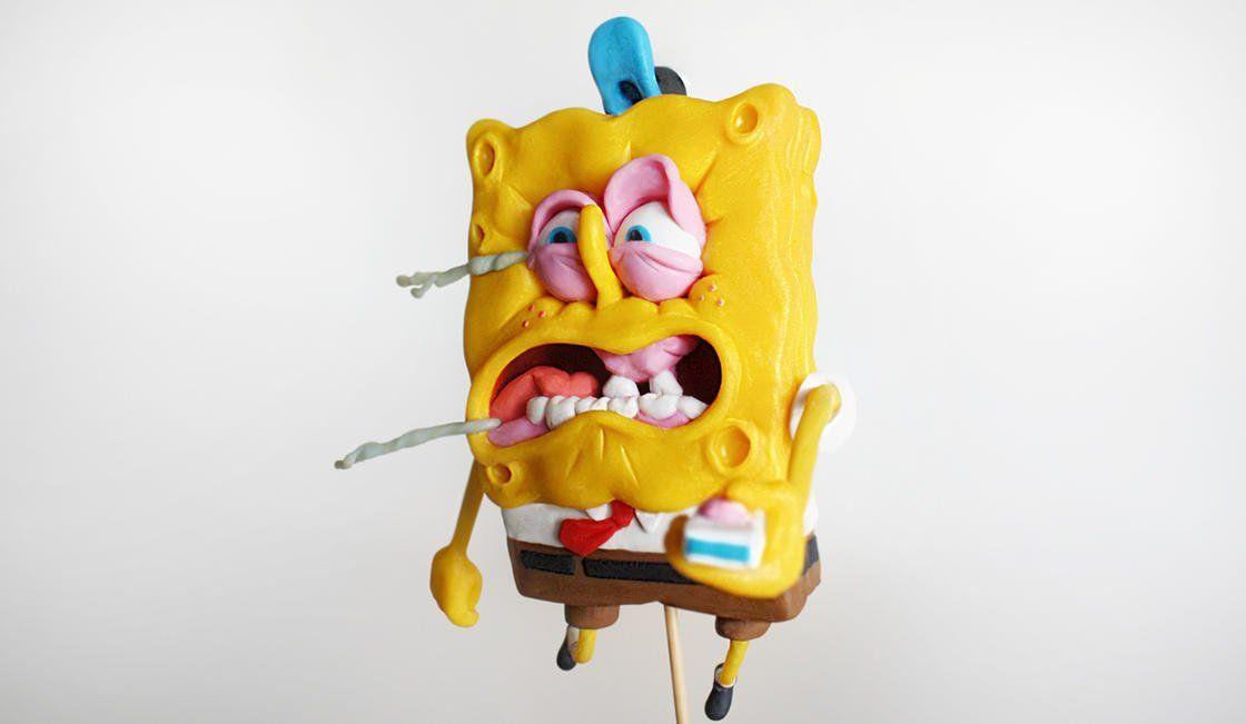 Atemberaubend Glücklicher Halloween Spongebob Galerie - Druckbare ...
