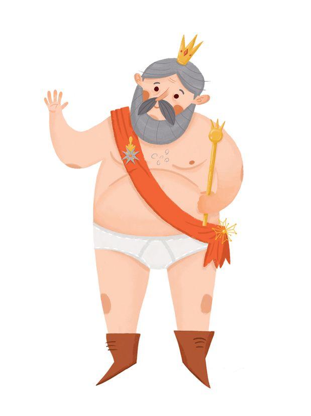 The Emperor S New Clothes Carevo Novo Odelo On Behance