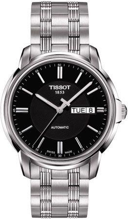 T065.430.11.051.00, T0654301105100, Tissot automatics iii watch, mens