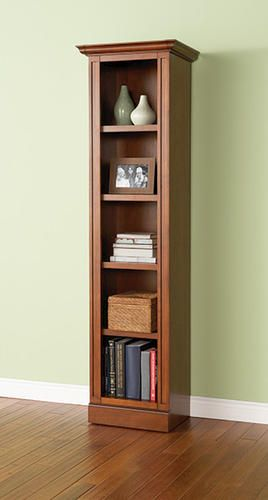 Remarkable Lancaster Narrow 4 Shelf Plus Base Bookcase At Menards Home Interior And Landscaping Oversignezvosmurscom