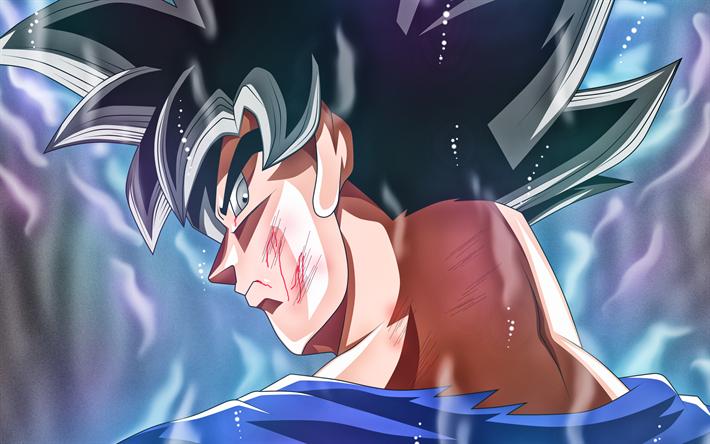 Download Wallpapers 4k Ultra Instinct Goku Warrior Close Up Dbs Dragon Ball Migatte No Gokui Mastered Ultra Instinct Art Super Saiyan God Dragon Ball Goku Ultra Instinct Wallpaper Dragon Ball Super