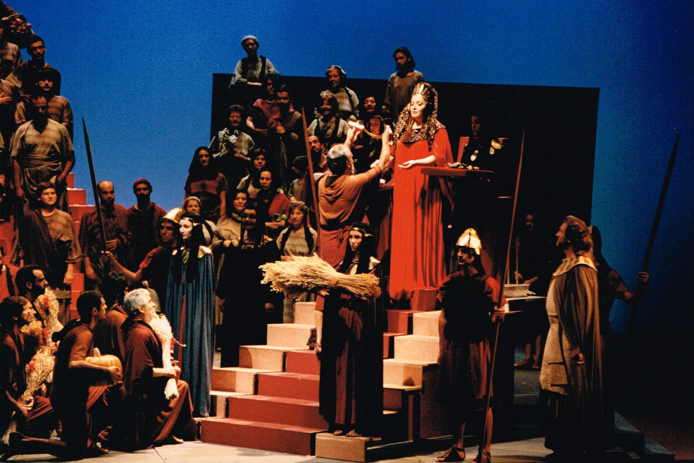 Markella Hatziano As Didon In Berlioz S Les Troyens Recital Concert Photo