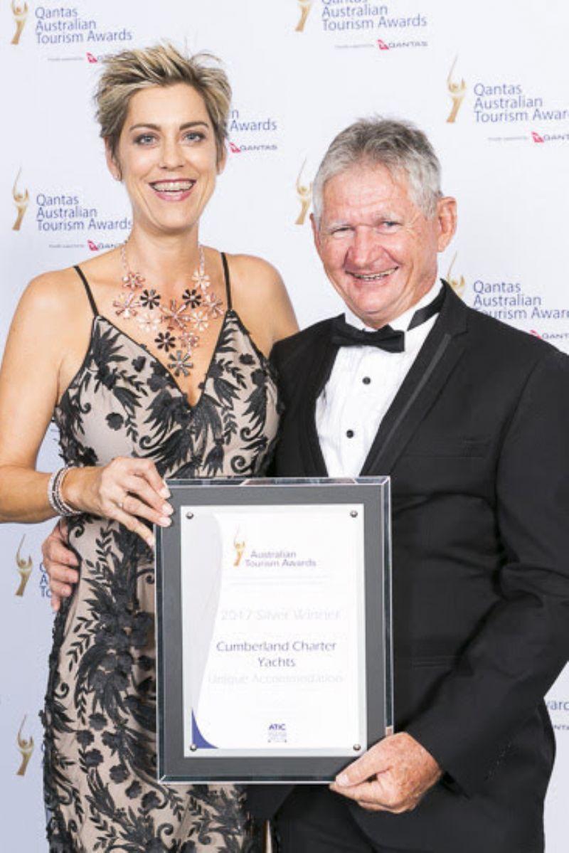 Cumberland Charter Yachts Wins National Tourism Award   The