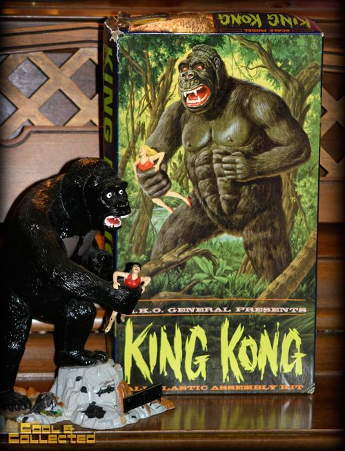 Vintage 1964 Aurora King Kong Model Kit In 2019 King