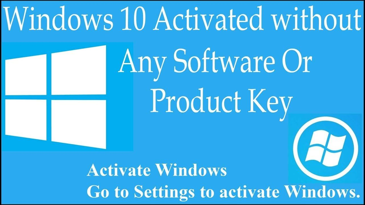 Activate windows 10 with cmd without product key 2020 in ...