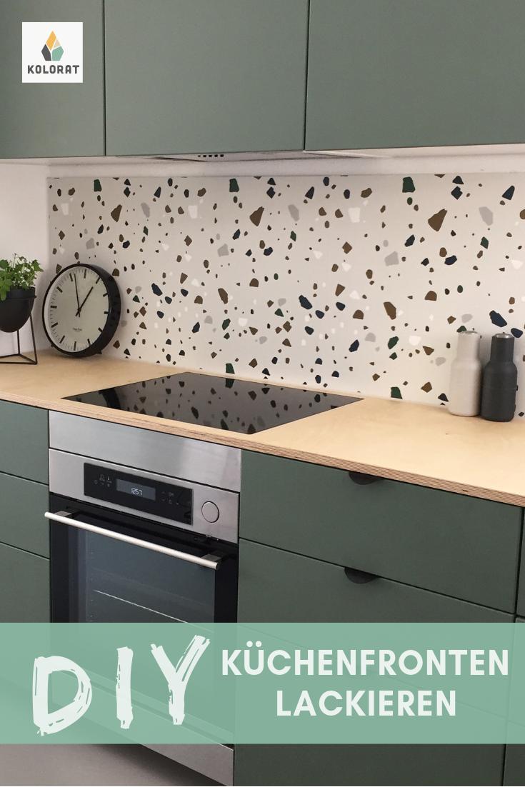 Lackier deine Küchenfronten einfach selbst mit Lack von www.kolorat ...