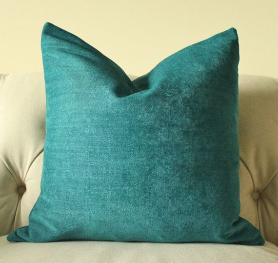 Decorative Teal Blue Pillow Dark Turquoise Pillow Cover Gorgeous Dark Teal Decorative Pillows