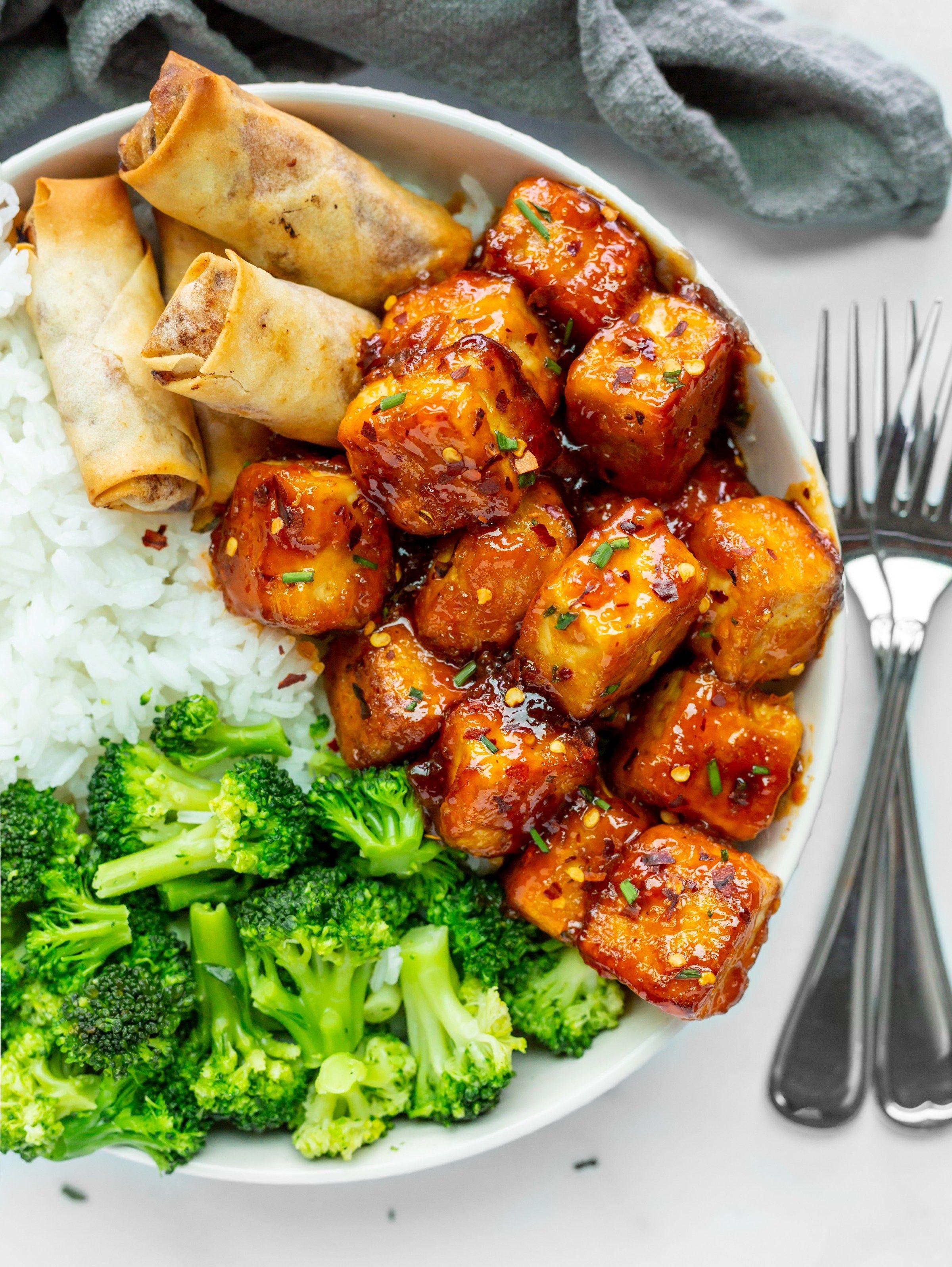 Firecracker Tofu Tofu Dishes Tofu Recipes Recipes