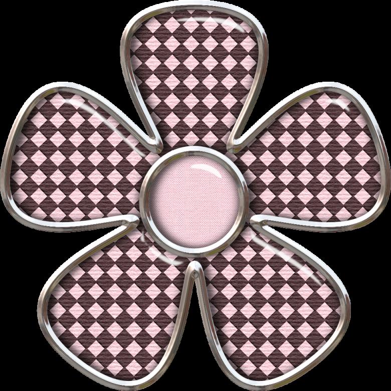 fleur rose et chocolat