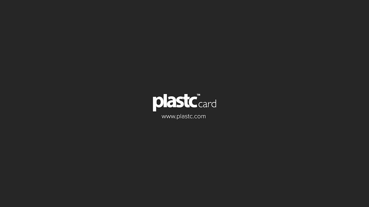 All cards on one card - Consolidated Wallet With All Cards In One Smart Card Plastc Card