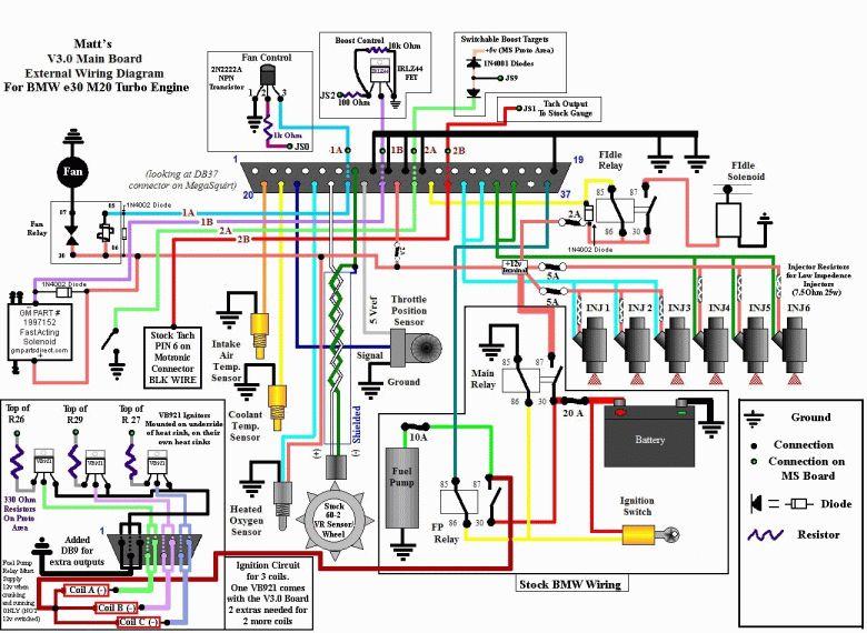 12 e30 engine wiring diagram  engine diagram  wiringg