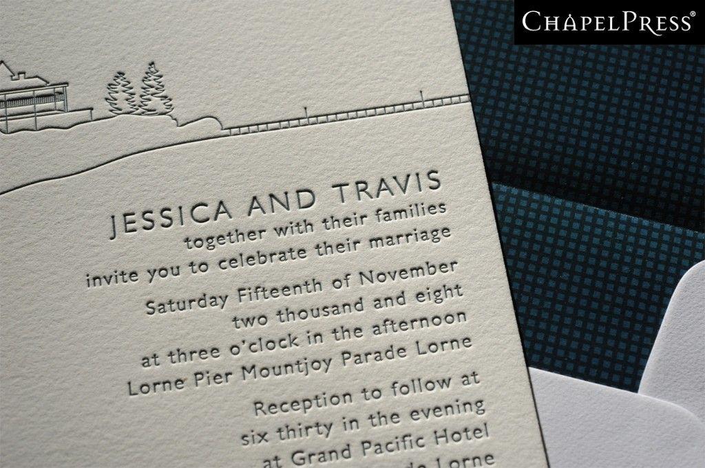 Letterpress printing melbourne australia chapel press wedding letterpress printing melbourne australia chapel press wedding invitations business cards design reheart Choice Image