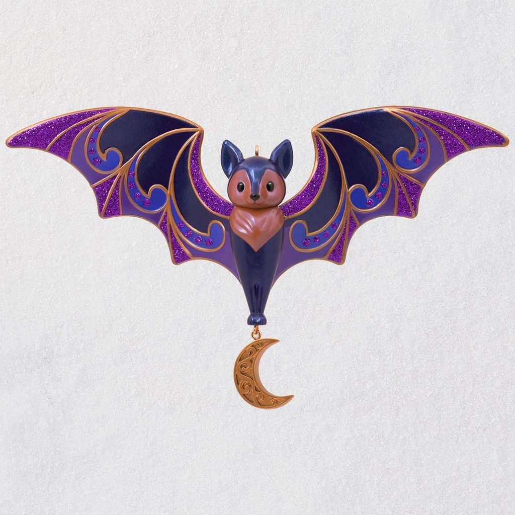 Bewitching Bat Halloween Ornament Halloween ornaments