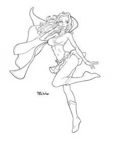 Supergirl Coloring Pages | Coloring Pages Gallery | Coloring pages ...