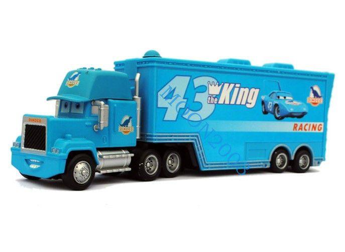 Disney Pixar Cars Diecast 43 The King Hauler Dinoco Super Liner
