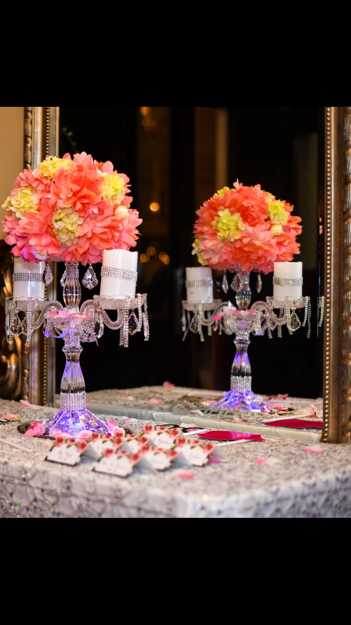 Pin by Indi on 30th Anniversary look. | Table decorations ...