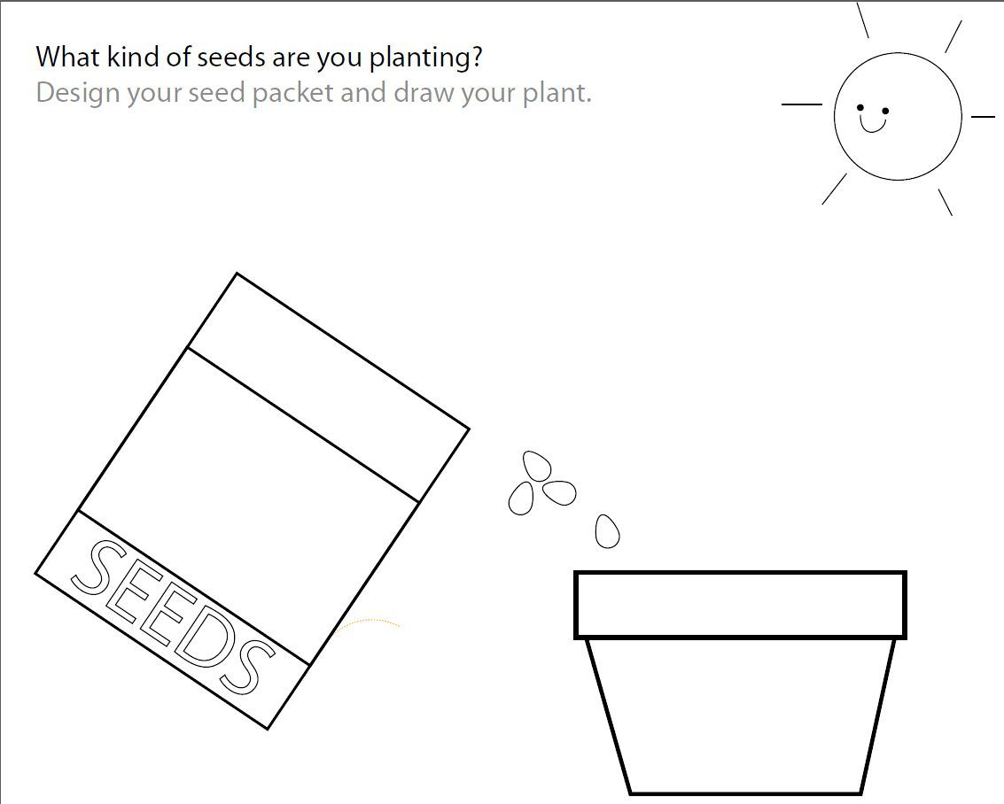 How To Plant A Garden Worksheet Vegetables Worksheet