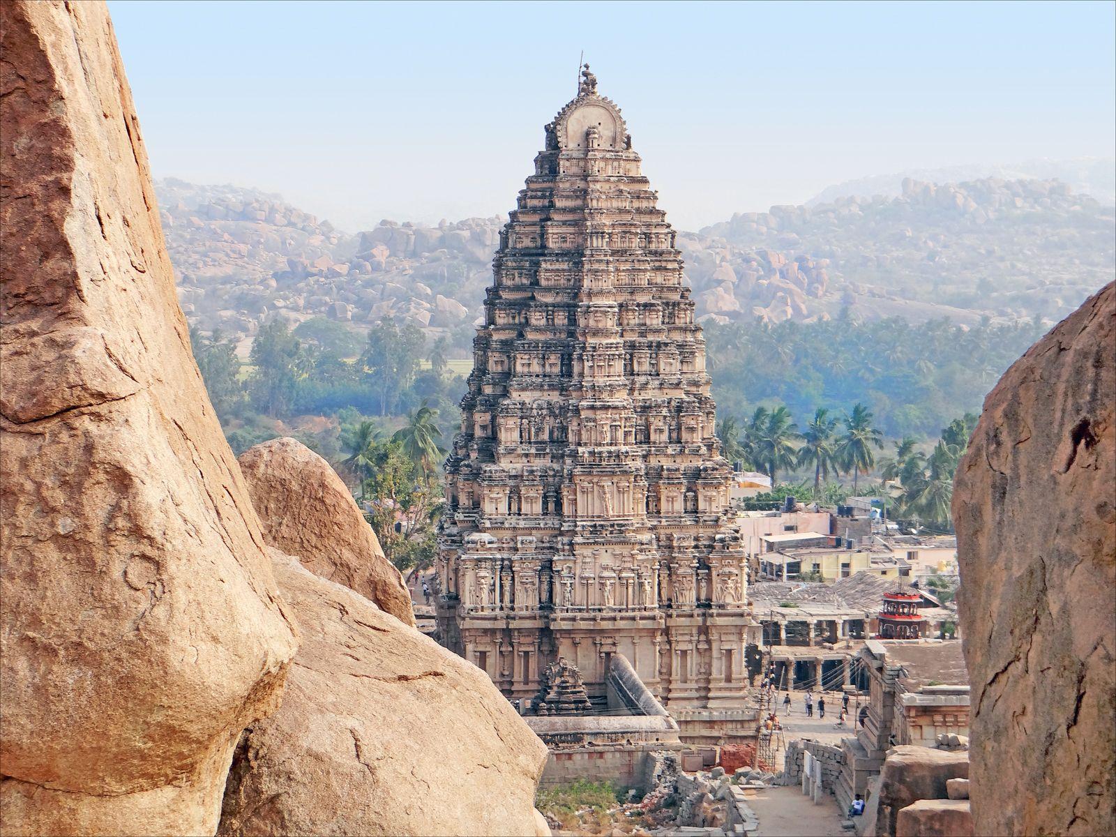 ciudades perdidas en la India Vijayanagar, Karnataka india