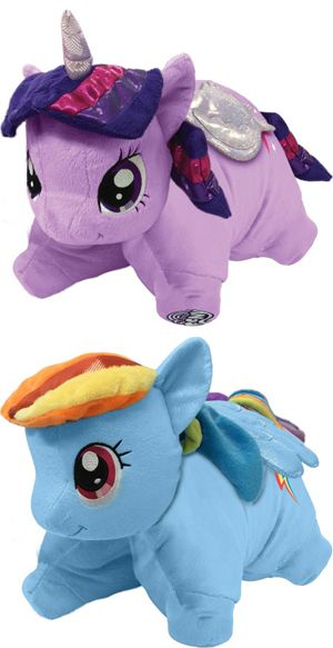 Did Someone Say They Wanted My Little Pony Pillow Pets Brony Com T Shirts And Apparel For Bronies Animal Pillows My Little Pony My Little Pony Merchandise
