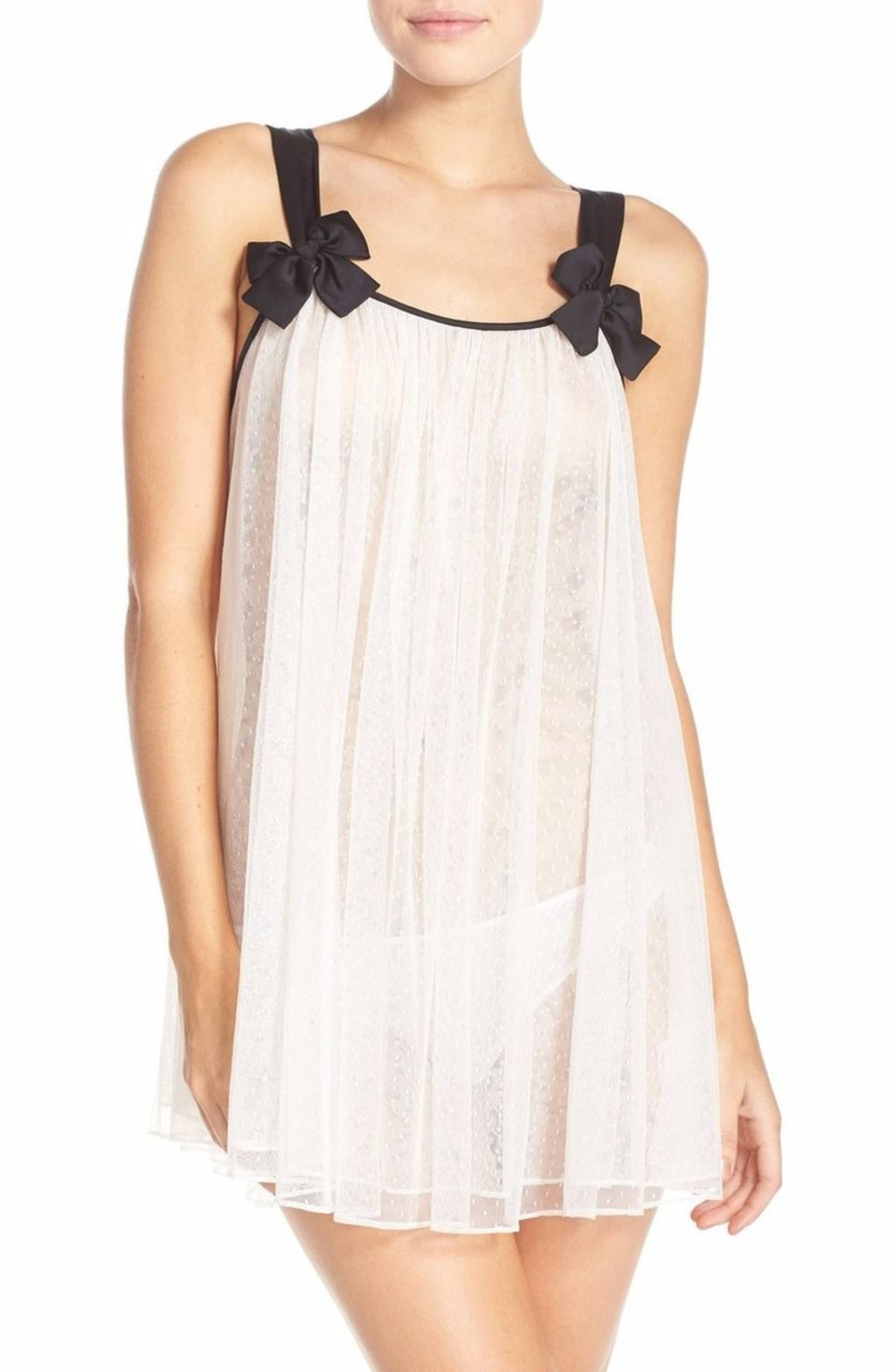 49f953409d4 kate spade new york Mesh Babydoll Chemise   Briefs Ivory  79 - PICK UP OR  SHIPS FREE WORLDWIDE! BET PRICE GUARANTEE - MAJOR CREDIT CARDS ACCEPTED -  SHOP OUR ...