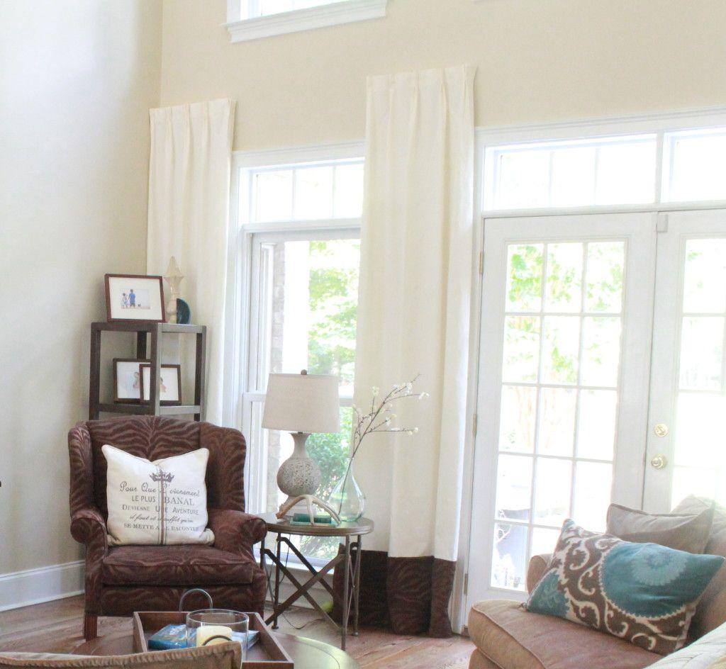 Diy Hidden Curtain Rods Curtains Windowtreatments Home Decor