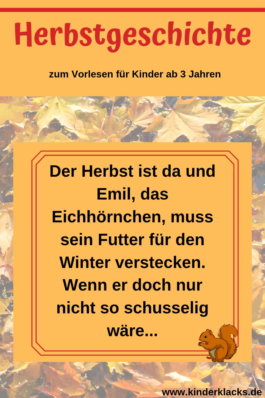 Kiga herbstgeschichte Blättergeschichte Archive