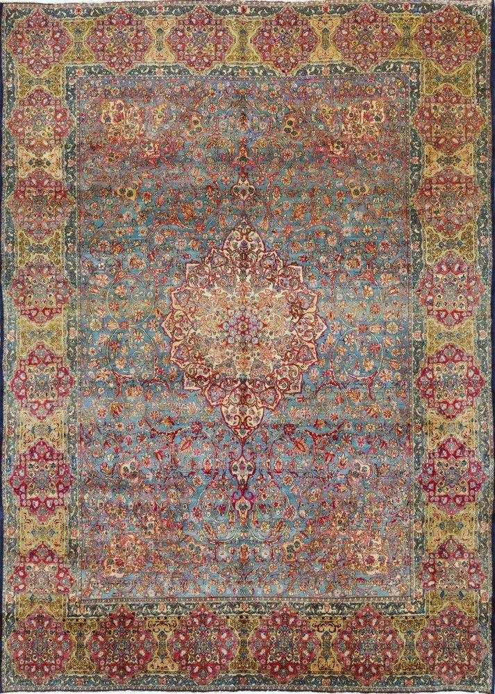 Persian Kerman Rug Halilar Kilim Dokuma