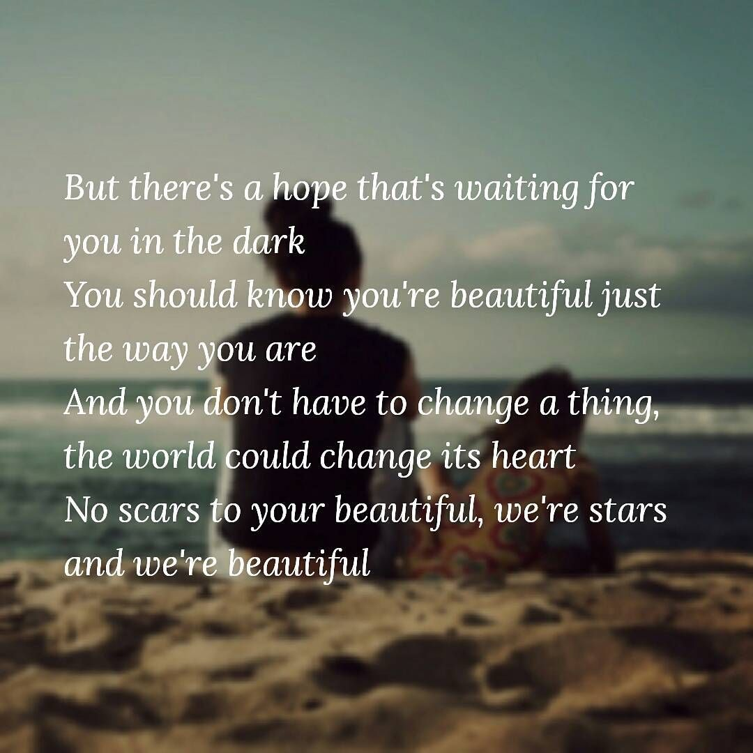 Scars To Your Beautiful Is Such A Beautiful Song It Realy Saids How