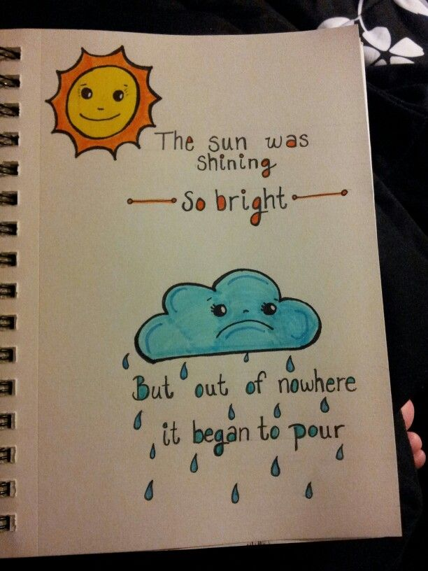 So Bright Doodle Quotes Color Cute Easy Drawings Doodle Art