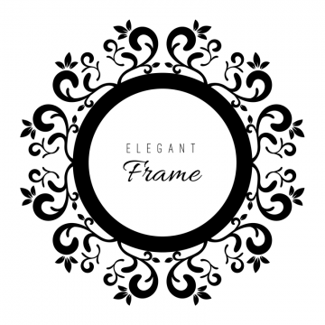 Black And White Ornament Frame Frame Vintage Frames Png And Vector With Transparent Background For Free Download Ornament Frame Vintage Frames Vector White Ornaments