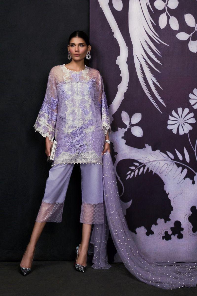 4b4e395287 Sana Safinaz Eid Collection, Sana Safinaz Embroidered Chiffon Dress, Sana  Safinaz Pearl Dupatta, Sana Safinaz Chiffon Replica, Master Quality  Replica, ...