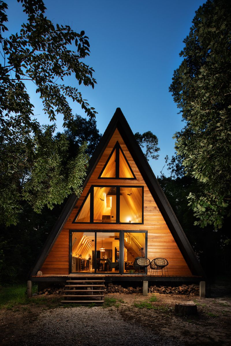 Lokal Hotel Boutique Hotels Incl An A Frame Cabin In Nj Triangle House A Frame House Plans Architecture