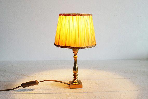 Gold Antique Lamp Shade Vintage Metal Lamp Base Art Deco Colorful Lamp Shades Small Lamp Shades Antique Lamp Shades