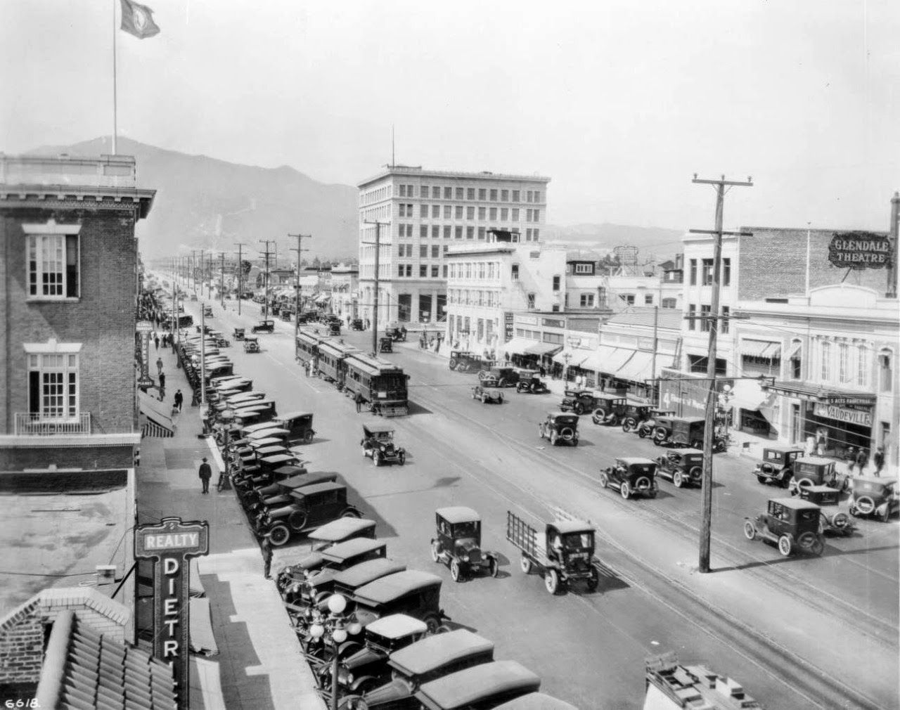 Brand Blvd In Glendale Ca 1926