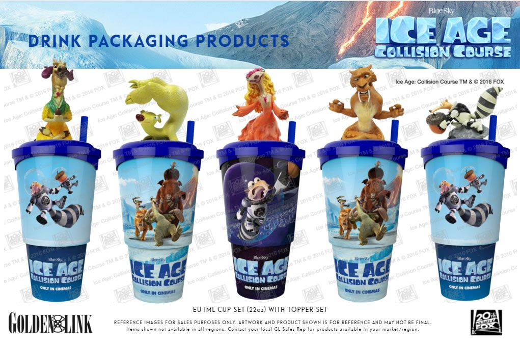 Ice age 5 Collision course product range ! tags : packaging era de ...