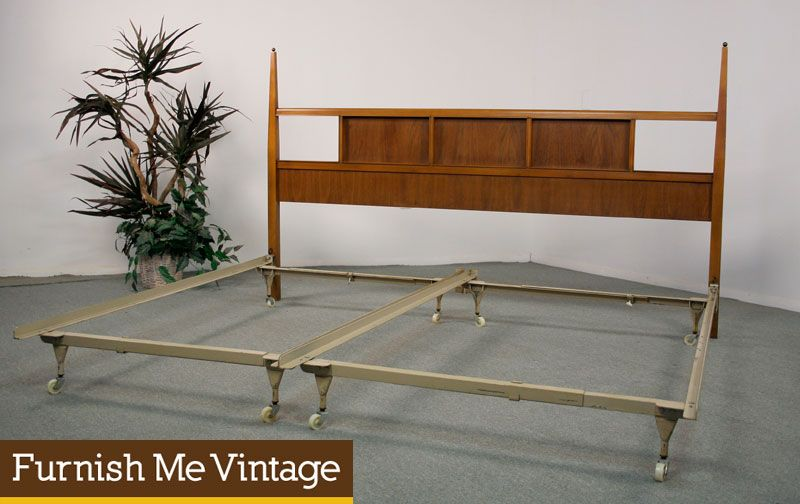 basic witz mid century modern king bed - Mid Century Modern Bed Frame