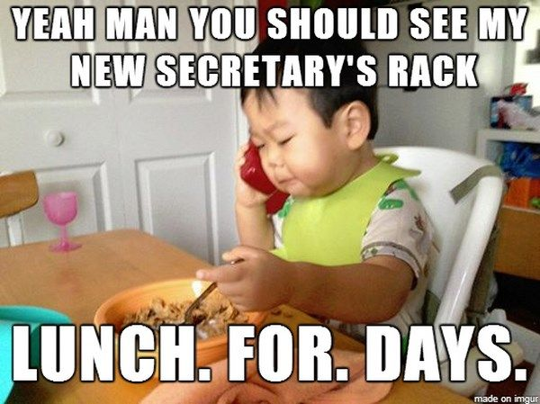 Business Baby It S A Meme Now Funny Baby Memes Baby Memes Business Baby Meme