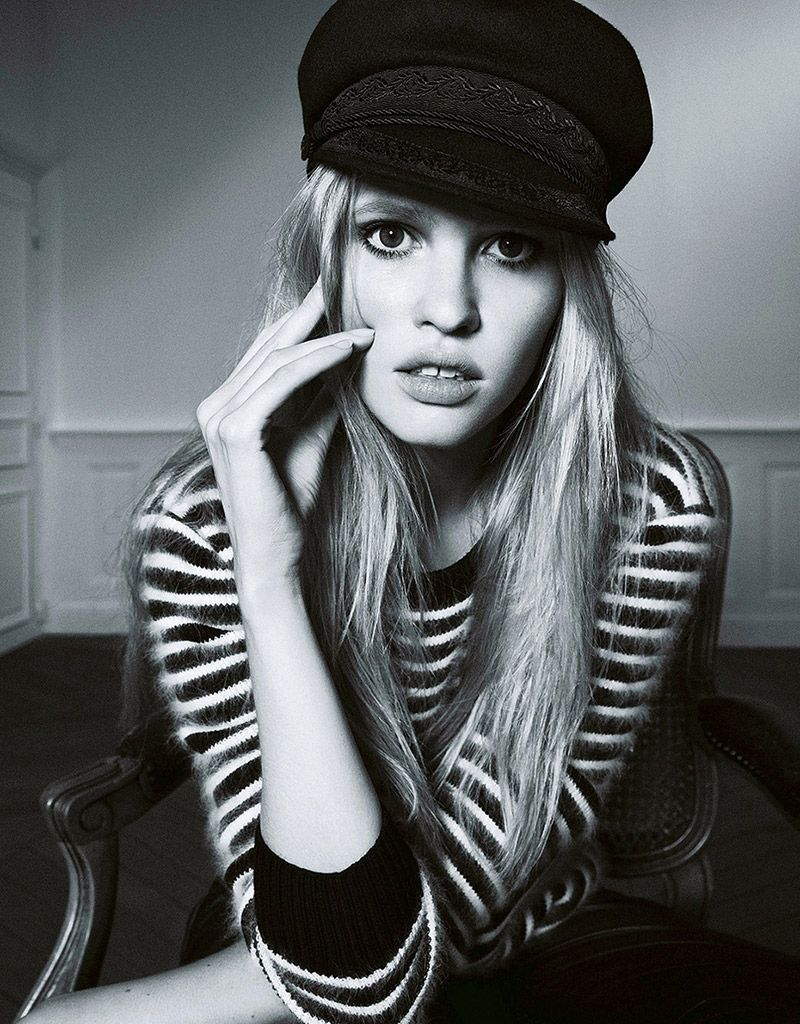 I like who i am BUT if i could come back as anybody, it might have to be the INsanely gorgeous #LaraStone :)) ......lara stone pictures9 Lara Stone Wows in New Shoot for Madame Figaro by Nico
