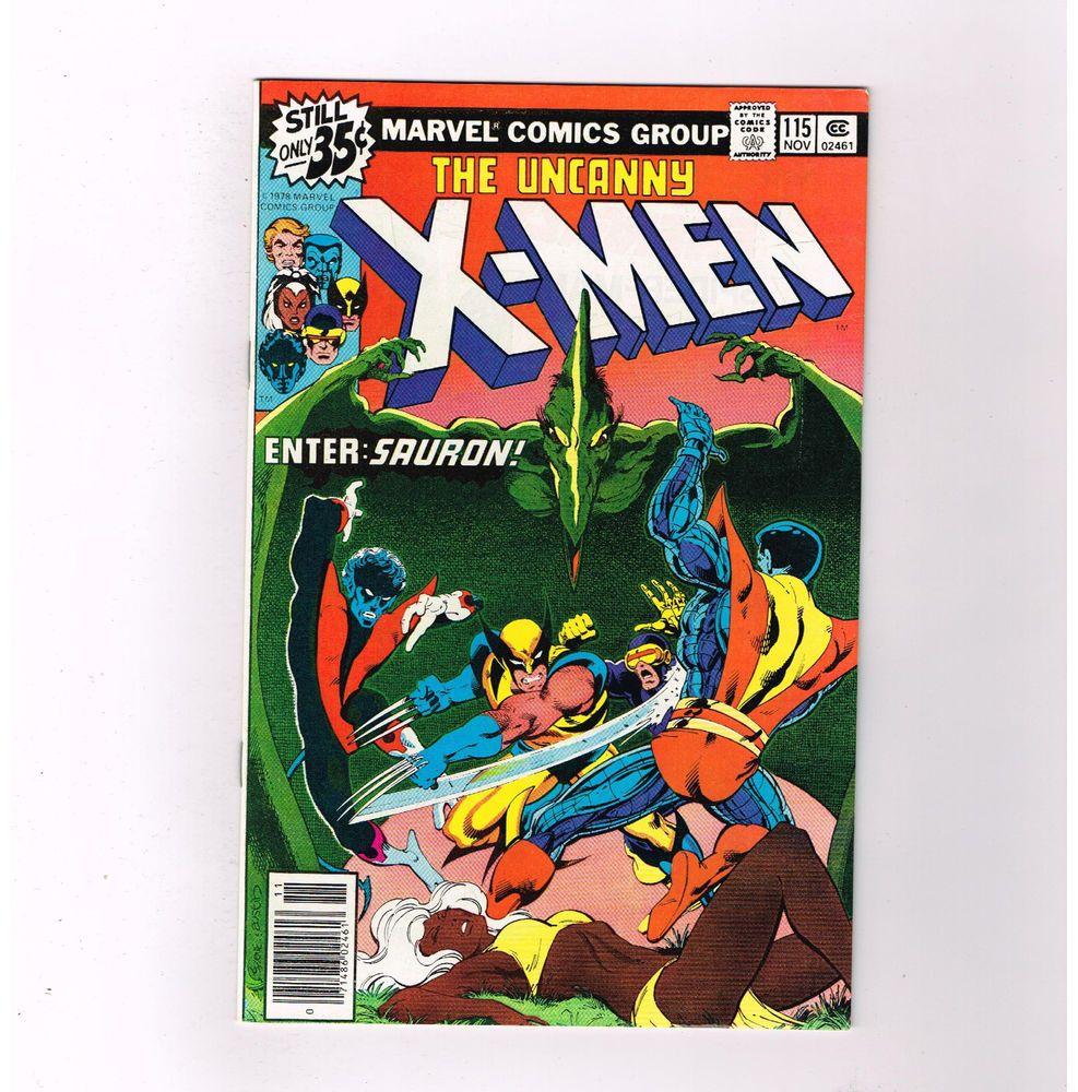 Details About Uncanny X Men 115 Grade 9 0 Bronze Age Tale W Ka Zar In The Savage Land Marvel Comics Covers Comic Books X Men