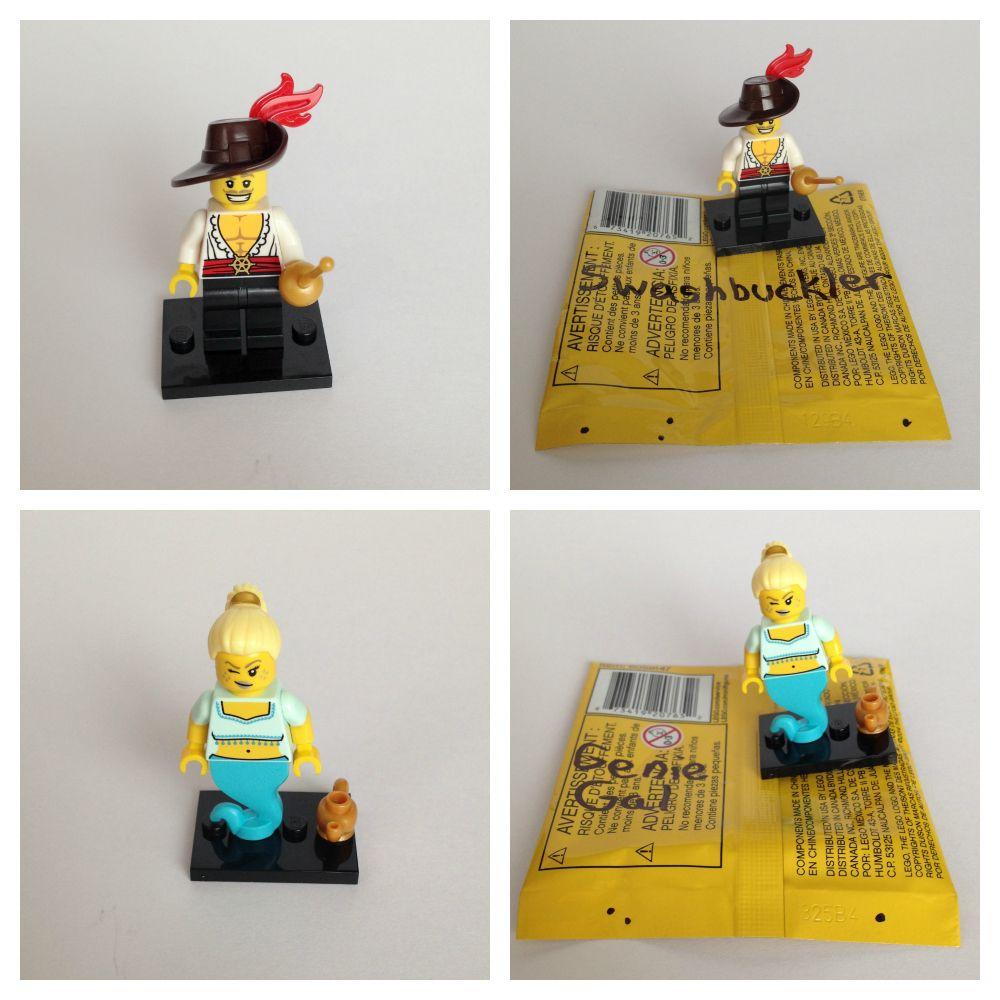 Lego minifigure bump codes series 12 edition