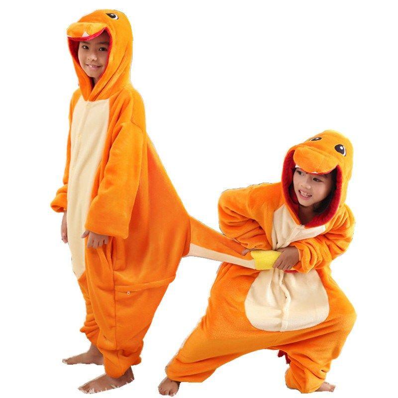 Kigurumi Pajama 2020 Pokemon Charmeter Onesie pour adulte flanelle ...