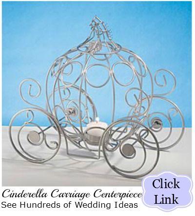 Cinderella Carriage Centerpiece Fairytale Centerpiece My Wedding