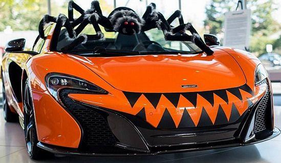 McLaren 650S Spider Halloween