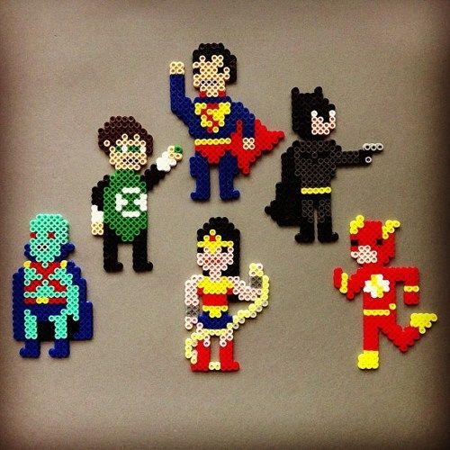 Justice League of America Magnetic Action Set DC Comics