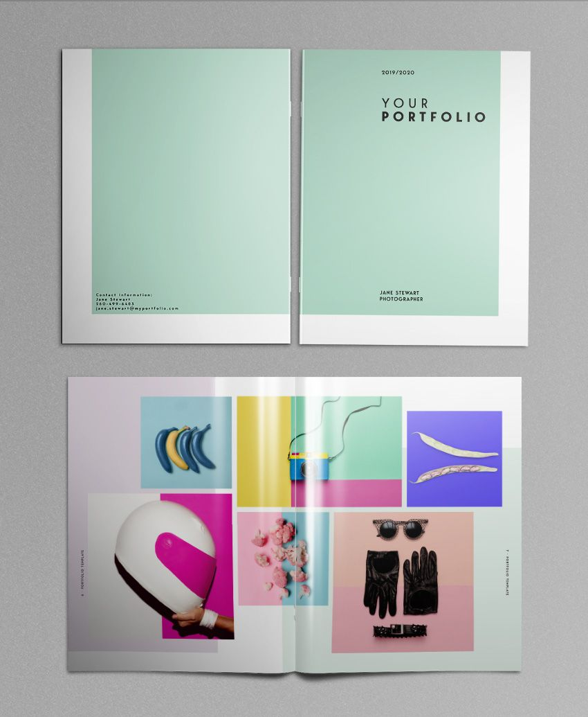 Stunning Portfolio Template For Indesign: How To Make Stylish Layouts For A Portfolio Template In