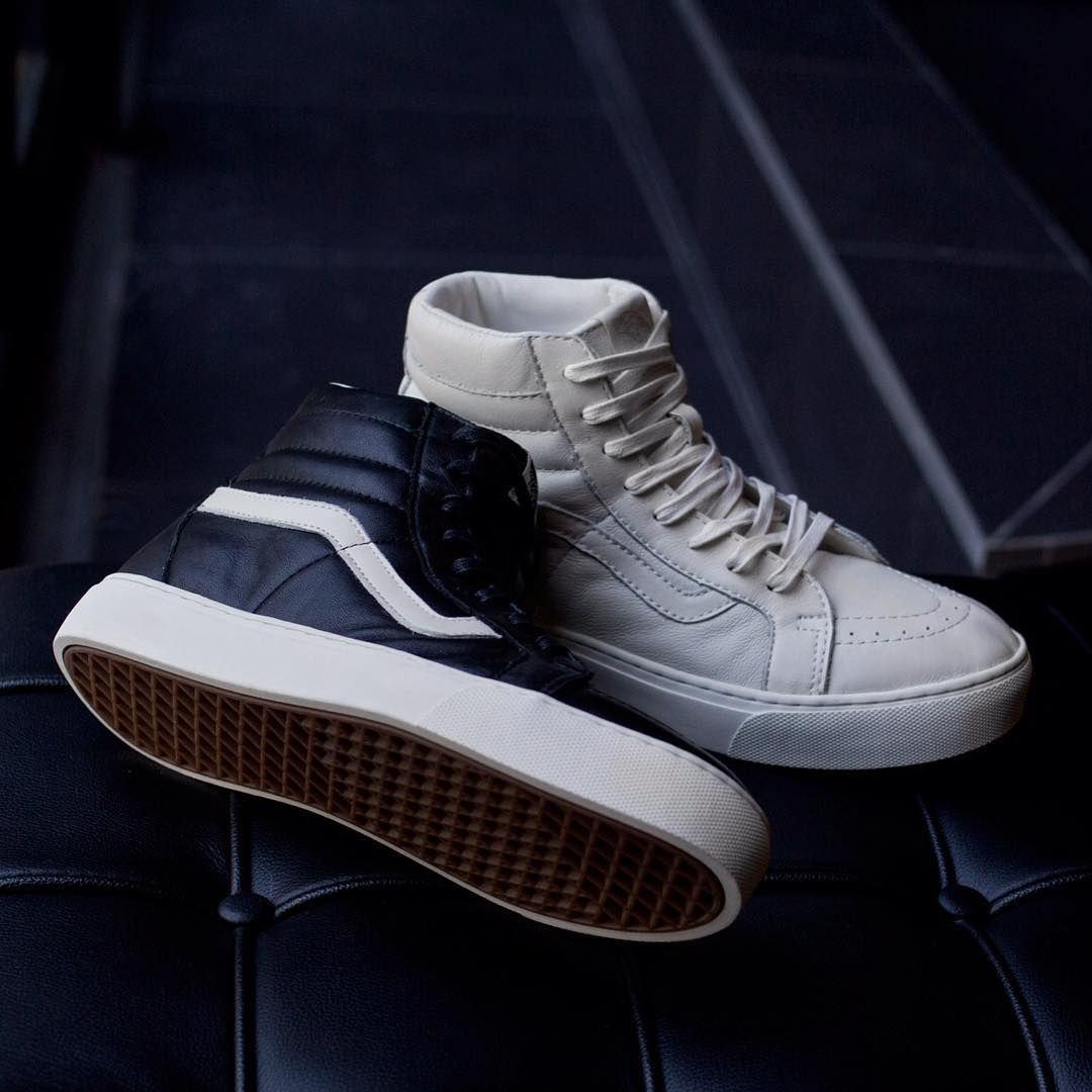25d6673564a The Vans SK8-Hi Cup CA is a straight-forward leather classic with the  addition of a new cupsole outsole design and a newly developed comfort last.