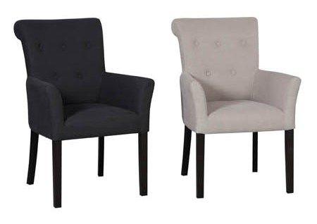Eetkamerstoelen banken en barstoelen van stoelen for Zwarte eetkamerstoelen