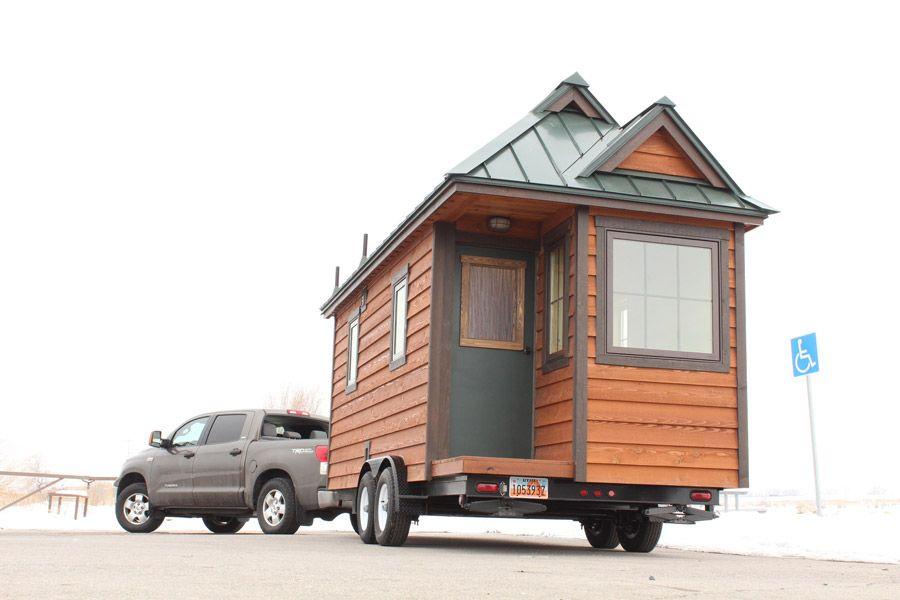 where to put a tiny house. Tiny House On Wheels: Blue Sky Model Where To Put A