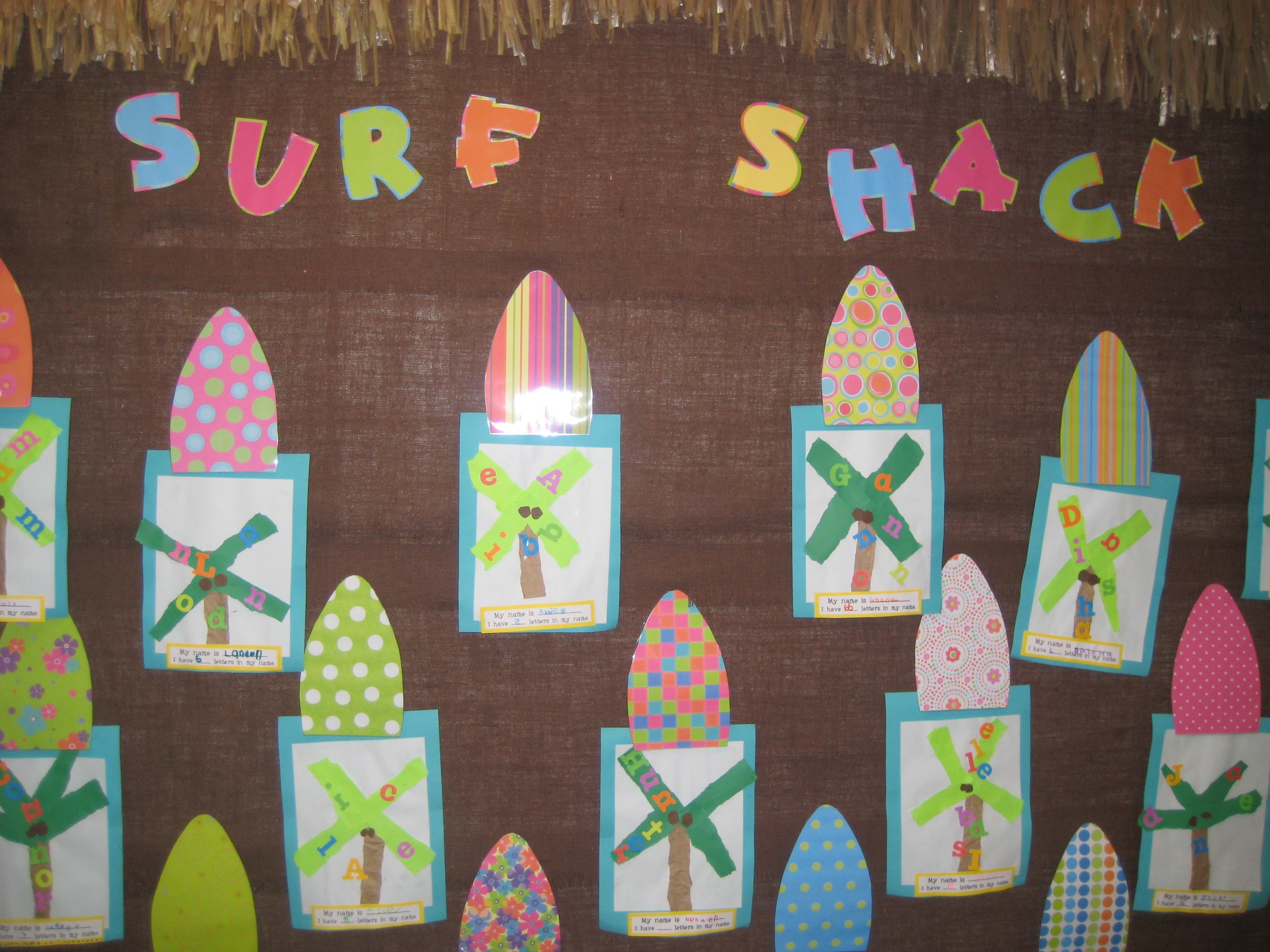 Cute Bulletin Board Ms M S Blog Surf Theme Amp Target