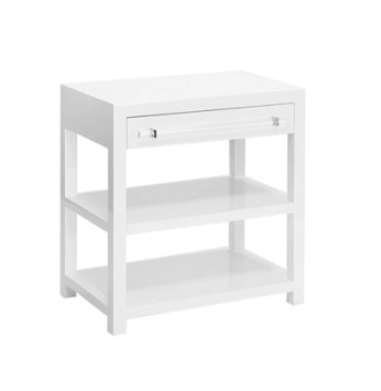 Worlds Away Garbo Side Table In 2019 White Side Tables End